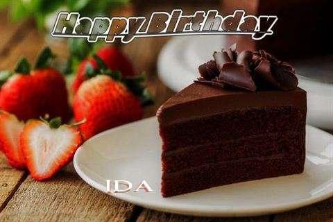 Happy Birthday to You Ida