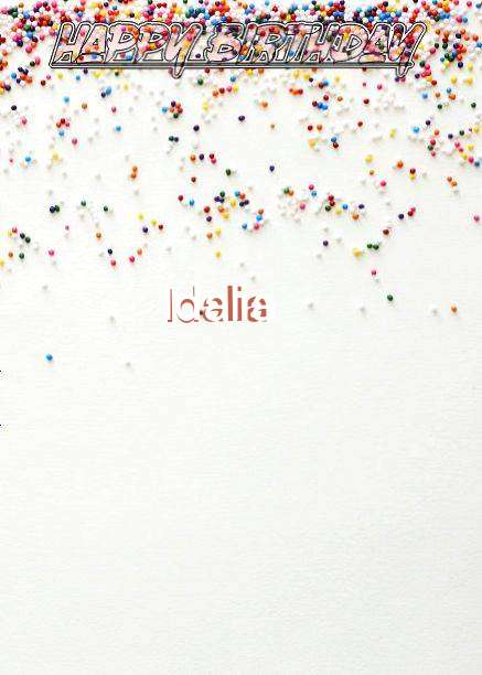 Happy Birthday Idalia