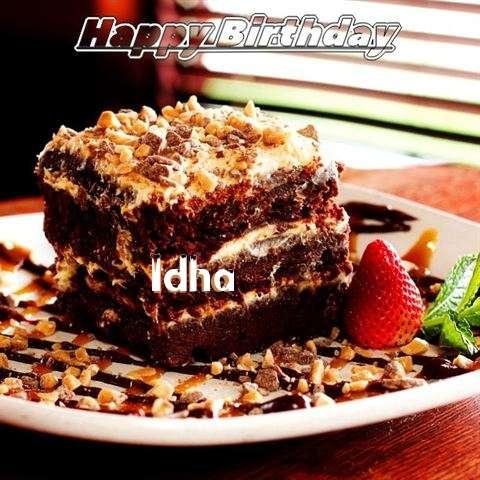 Happy Birthday Cake for Idha
