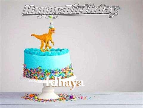 Happy Birthday Cake for Idhaya
