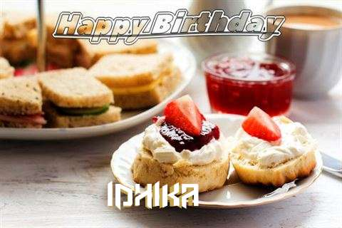 Happy Birthday Cake for Idhika