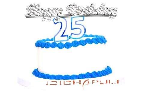 Happy Birthday Idichapuli Cake Image