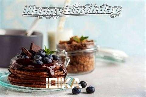 Happy Birthday Idika