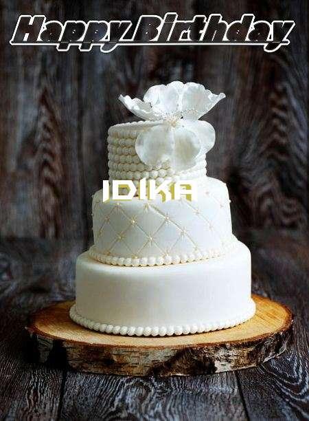 Happy Birthday Idika Cake Image