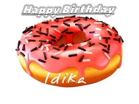 Happy Birthday to You Idika