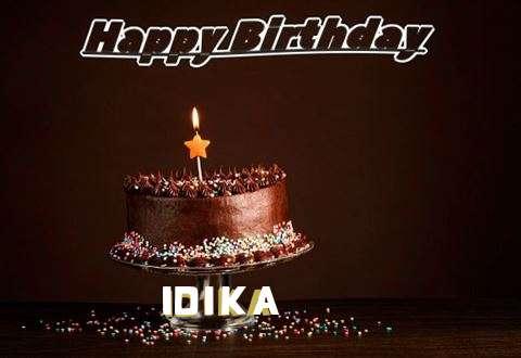 Happy Birthday Cake for Idika