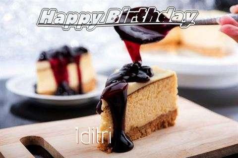 Birthday Images for Iditri