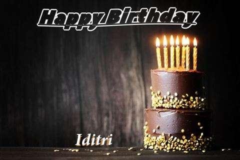 Happy Birthday Cake for Iditri
