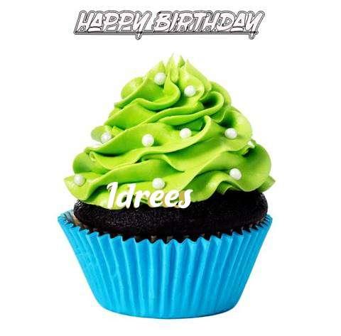 Happy Birthday Idrees