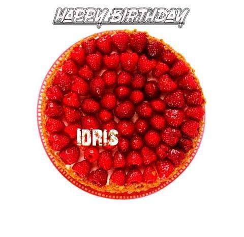 Happy Birthday to You Idris