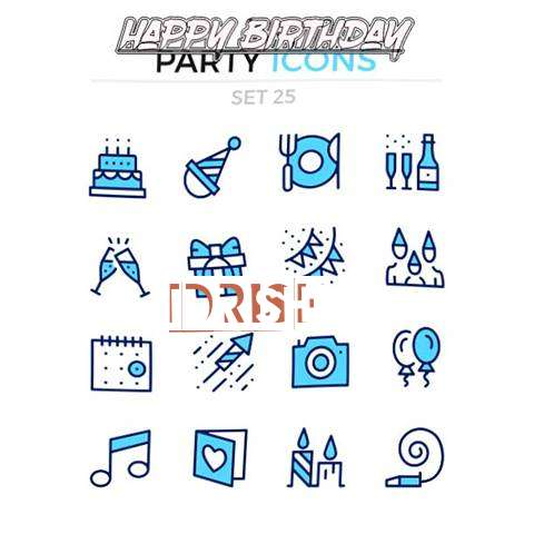 Happy Birthday Wishes for Idrish