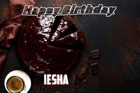 Happy Birthday Wishes for Iesha