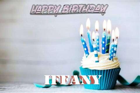 Happy Birthday Iffany Cake Image