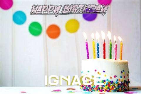 Happy Birthday Cake for Ignace