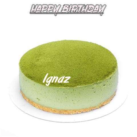 Happy Birthday Cake for Ignaz