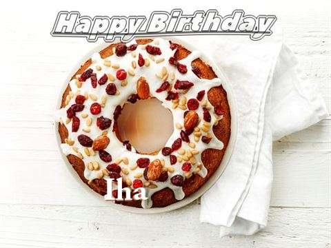 Happy Birthday Cake for Iha