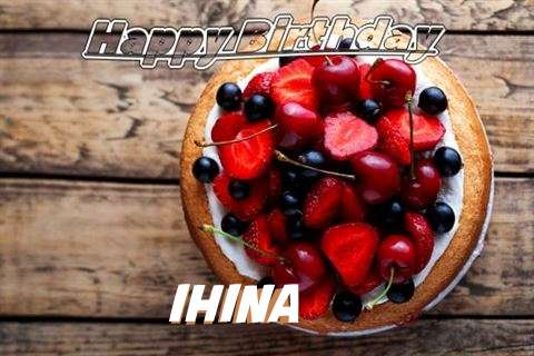 Happy Birthday Cake for Ihina