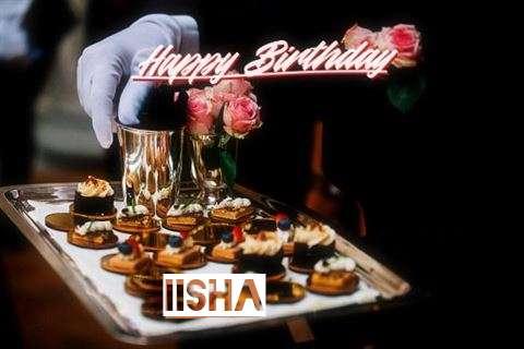 Happy Birthday Cake for Iisha