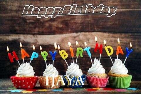 Happy Birthday Ijaya Cake Image