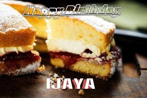 Happy Birthday Cake for Ijaya