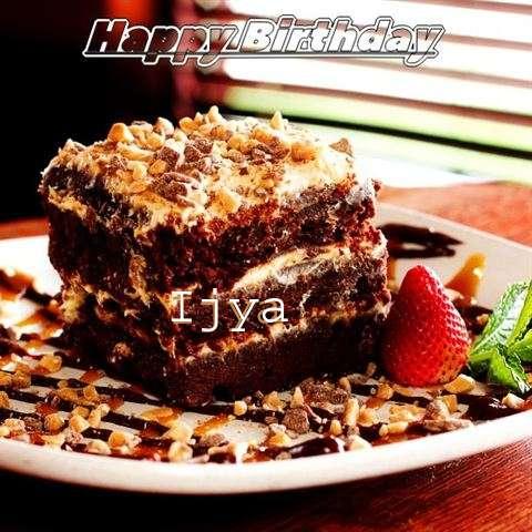 Happy Birthday Cake for Ijya