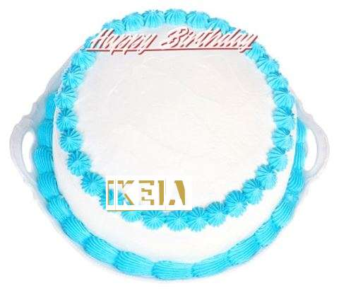Happy Birthday Cake for Ikeia
