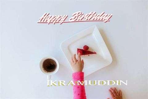 Happy Birthday Ikramuddin Cake Image