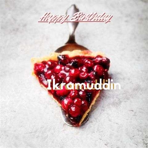 Happy Birthday to You Ikramuddin