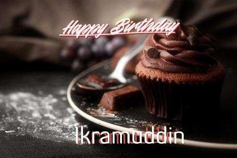 Happy Birthday Cake for Ikramuddin