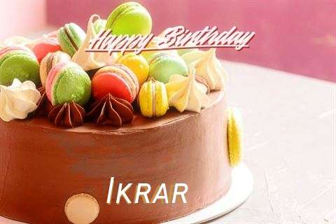 Happy Birthday Ikrar