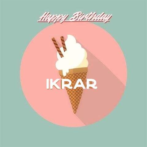 Ikrar Birthday Celebration
