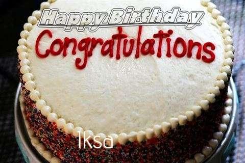 Happy Birthday Iksa
