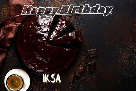 Happy Birthday Wishes for Iksa