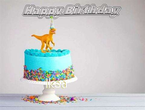 Happy Birthday Cake for Iksa
