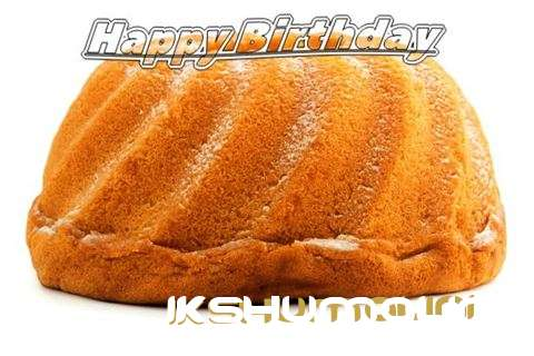 Happy Birthday Ikshumalini Cake Image