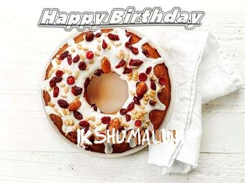 Happy Birthday Cake for Ikshumalini