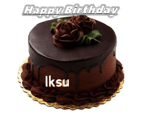 Birthday Images for Iksu