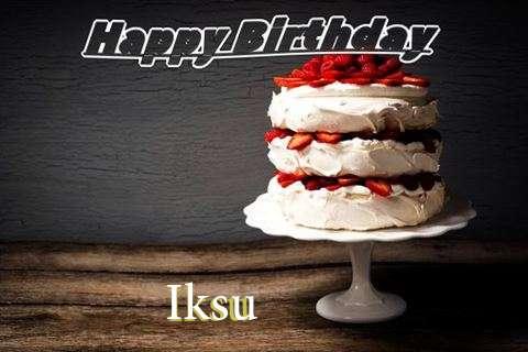 Iksu Birthday Celebration
