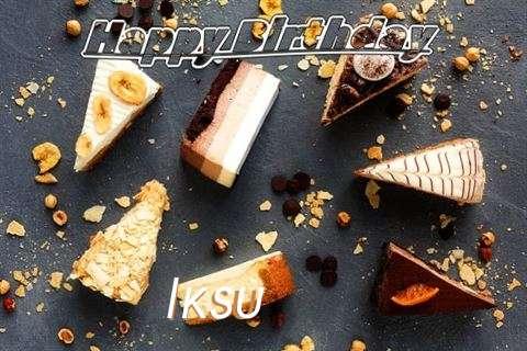 Happy Birthday to You Iksu