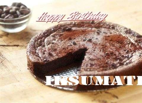 Happy Birthday Iksumati