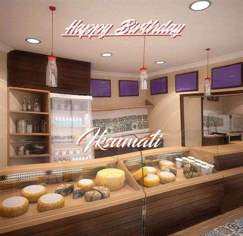 Happy Birthday Wishes for Iksumati