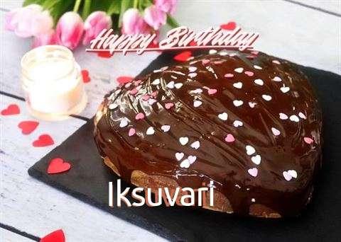 Happy Birthday Iksuvari