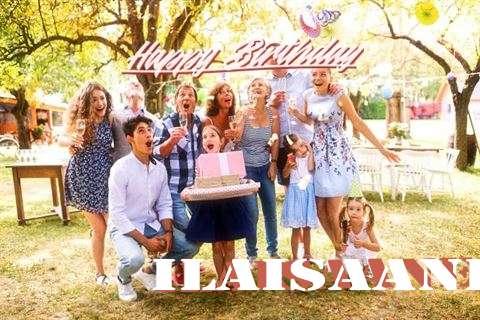 Happy Birthday Ilaisaane