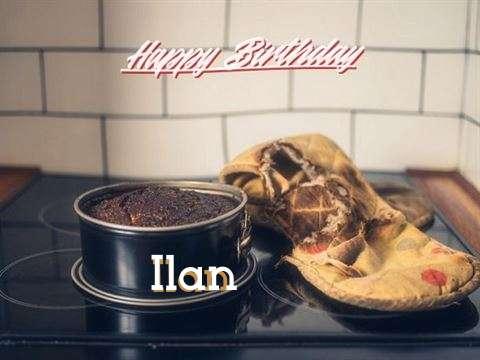 Happy Birthday Ilan Cake Image