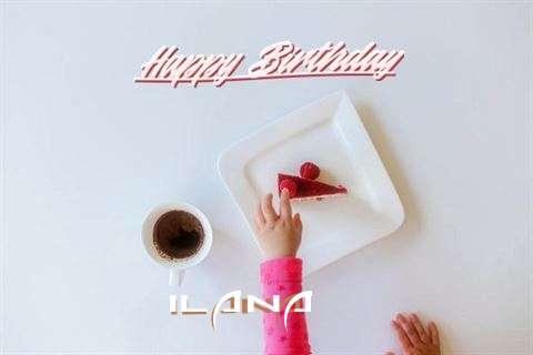 Happy Birthday Ilana Cake Image