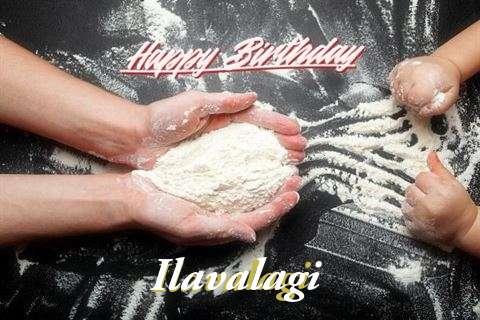 Happy Birthday Ilavalagi Cake Image