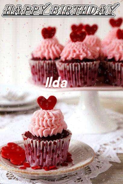 Happy Birthday Wishes for Ilda