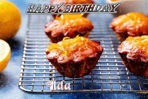 Happy Birthday Cake for Ilda