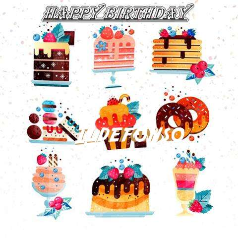 Happy Birthday to You Ildefonso