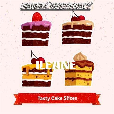 Happy Birthday Ileane Cake Image